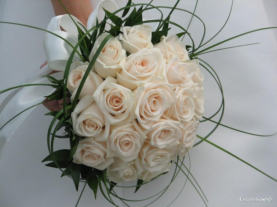 Свадьбу, букет невесты фото розы